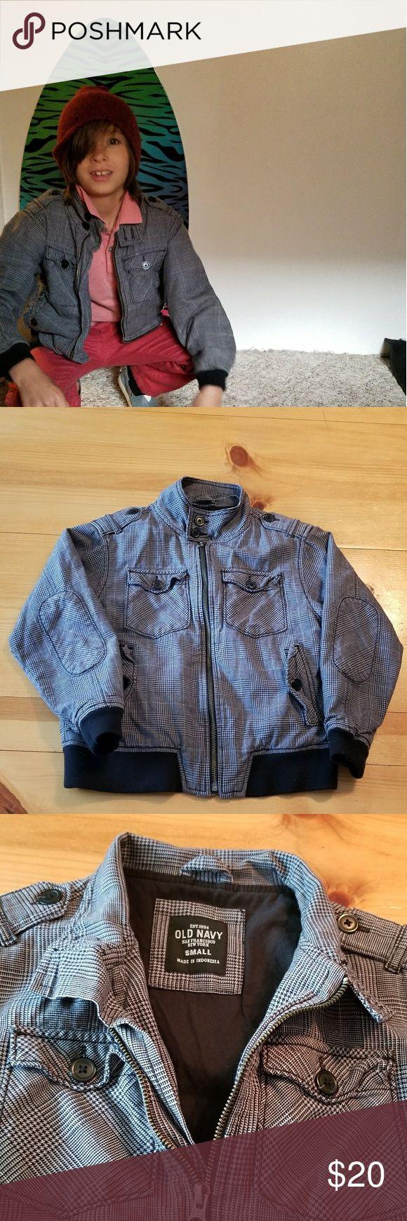 Boys bomber jacket Kai & The Hoodlums (proseeds uses for clarity)  Old Navy boys jacket Old Navy Jackets & Coats Blazers