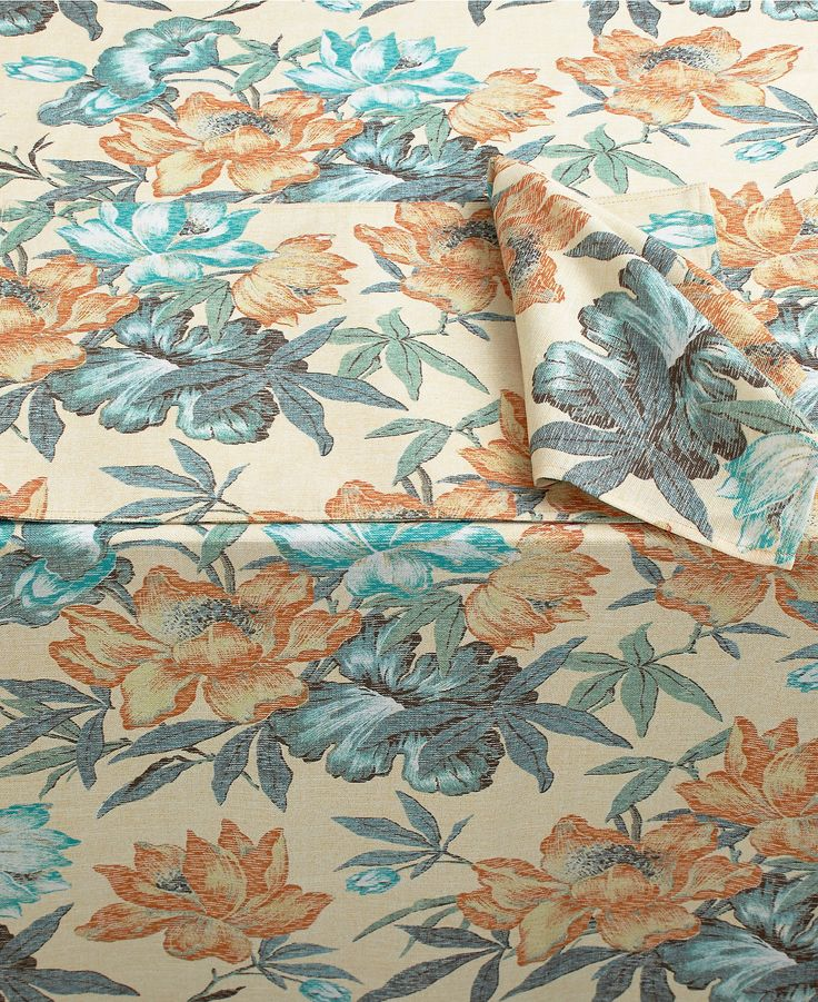 Tommy Bahama Island Magnolia Table Linens Collection - Table Linens - Dining & Entertaining - Macy's