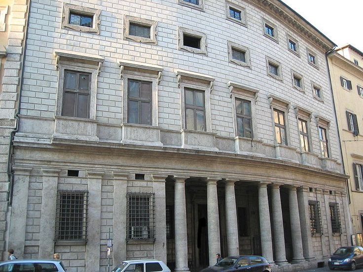 Modernist Architecture--Palazzo Massimo alle Colonne, Roma. Architect: Baldassarre Peruzzi