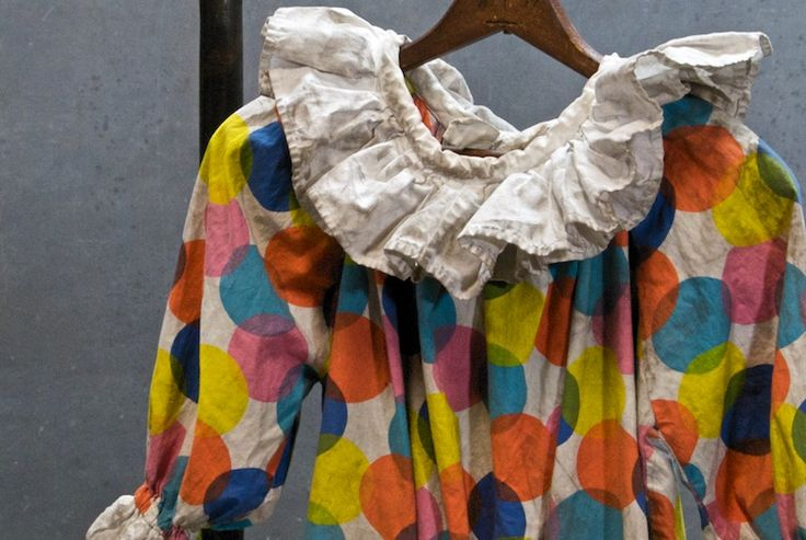 Vintage Circus Carnival Clown Suit : Factory 20