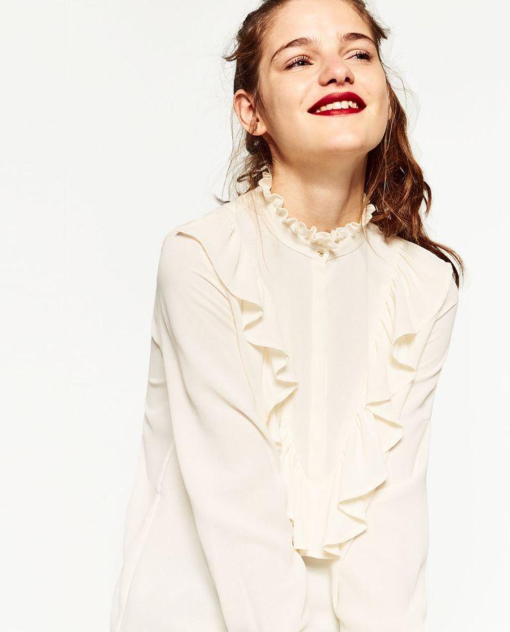 1000 id es sur le th me chemise femme zara sur pinterest chemise femme chemises et robe chemisier. Black Bedroom Furniture Sets. Home Design Ideas