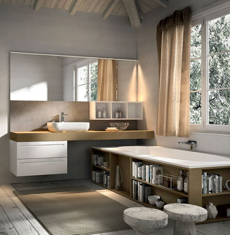 25 best ideas about badewanne holz on pinterest badezimmerm bel holz wohnung badezimmer. Black Bedroom Furniture Sets. Home Design Ideas