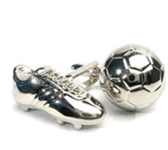Just in time for Euro 2012!!! Soccer Boot and Ball cufflinks!