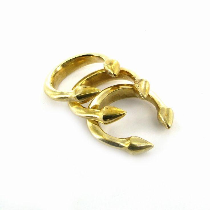 Mwezi rings by Made Kenya