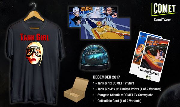 #Giveaway: Win a Tank Girl Sci-Fi Prize Pack (Ends 1/5)