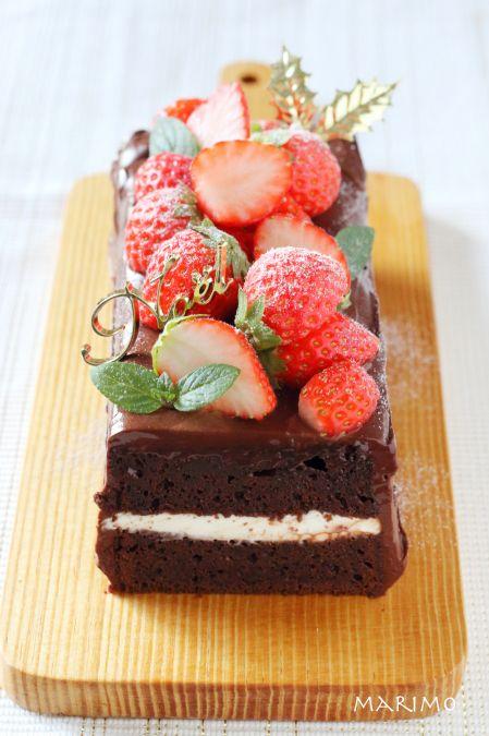 【動画で簡単!】チョコレートガナッシュケーキ! クリスマスにぜひ♪ : marimo cafe