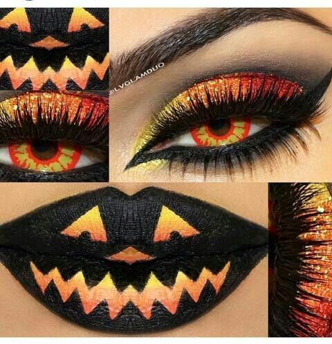 cute halloween makeup