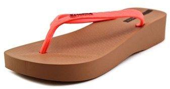 Ipanema Trop Plat Women Open Toe Synthetic Multi Color Flip Flop Sandal.
