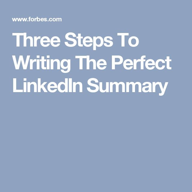 The 25+ best Linkedin summary ideas on Pinterest Accounting - linked in on resume