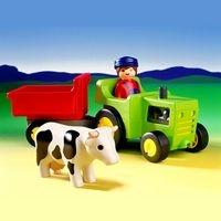 Playmobil 6715 Fermier et son tracteur 123 moins cher - 9,49 € livré -