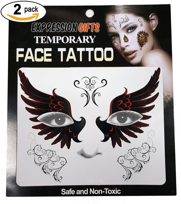 Image result for temporary face tattoos