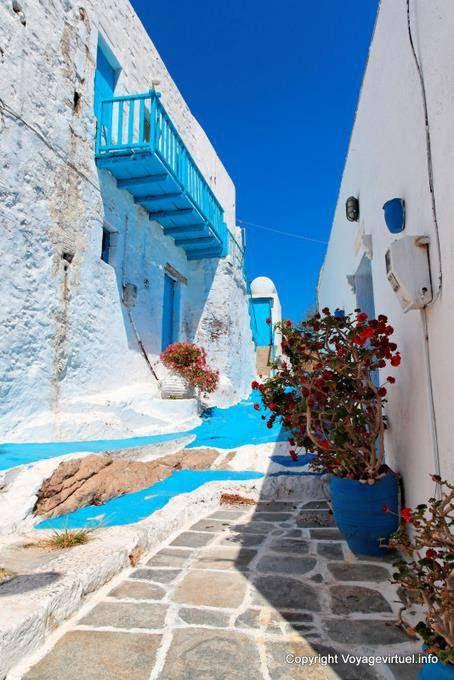 Milos, Plaka, Greece.