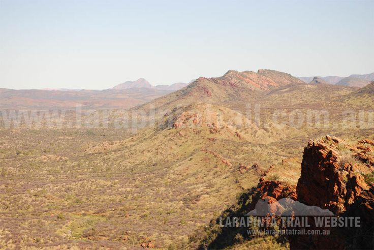 Scenic views along Section 1 of Larapinta Trail. © Explorers Australia Pty Ltd 2013