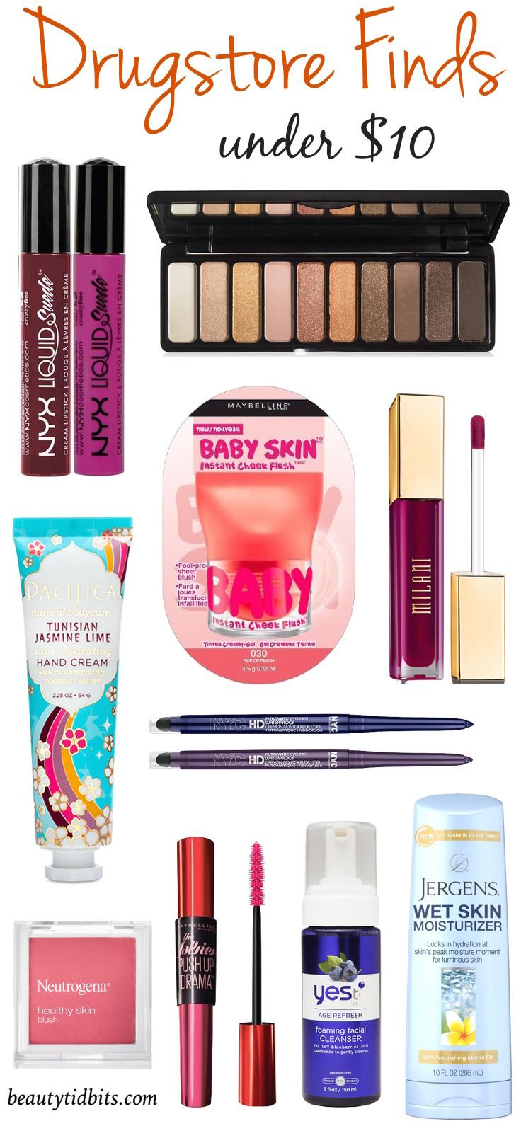 Amp up your look for fall with these hot new drugstore beauty products!