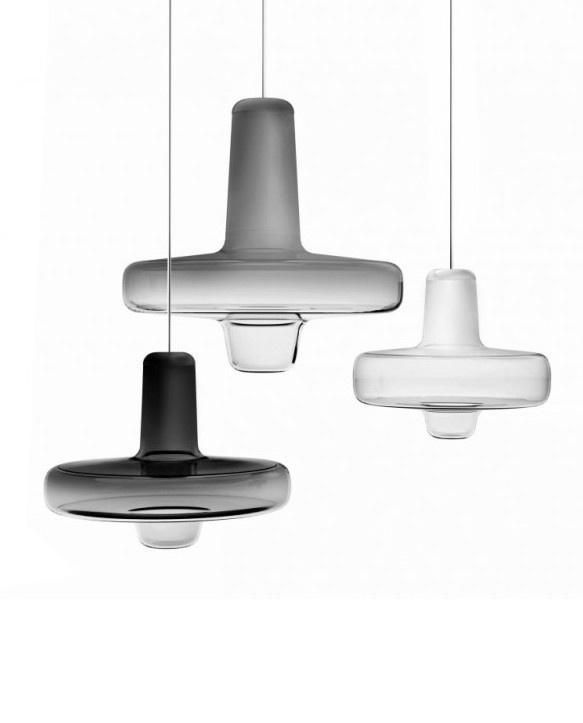 Lucie Koldova's  Spin Light for Lasvit.