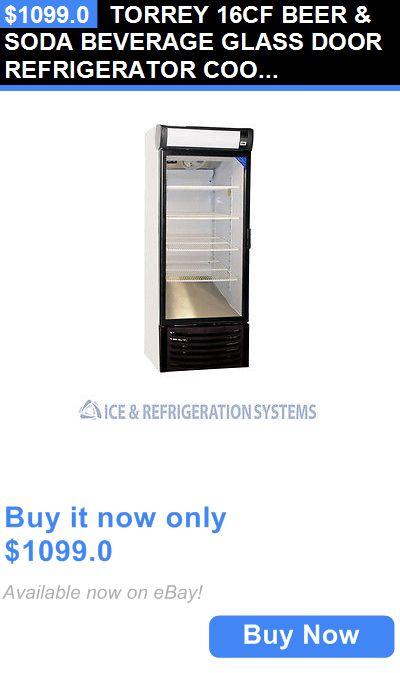 Food And Drink: Torrey 16Cf Beer And Soda Beverage Glass Door Refrigerator Cooler Merchandiser R16 BUY IT NOW ONLY: $1099.0
