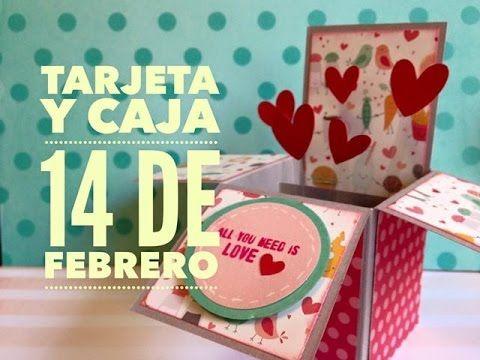 TUTORIAL Regalo Tarjeta San ValentínTarjeta explosiva/Explosive Card - YouTube