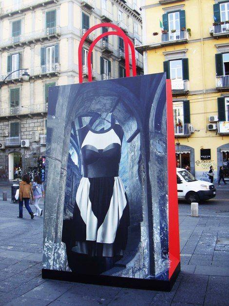 Giancarlo Neri, Giancarlo Neri for H&M - Naples 2011, Piazza Dante on ArtStack #giancarlo-neri #art
