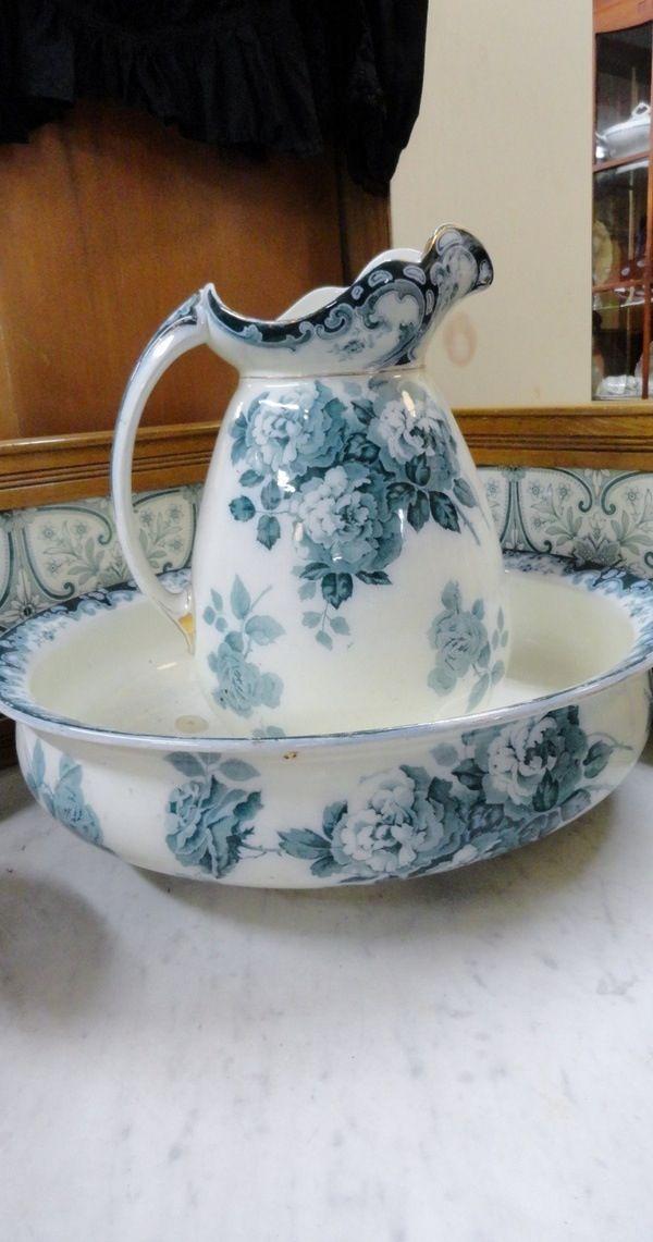 1000 images about pitcher and bowl sets on pinterest. Black Bedroom Furniture Sets. Home Design Ideas