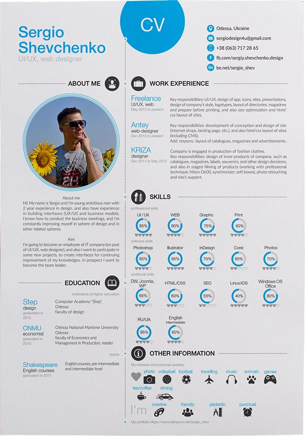 252 best Resume images on Pinterest Resume ideas, Resume - where can i post my resume for free