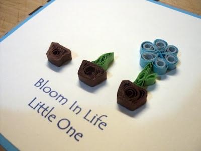 Bloom Little One Card