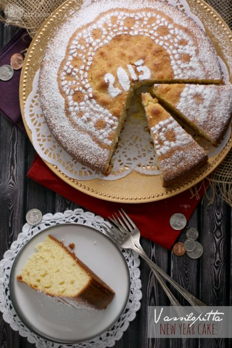 girlichef: Vassilopitta (New Year Wish Cake) #ProgressiveEats