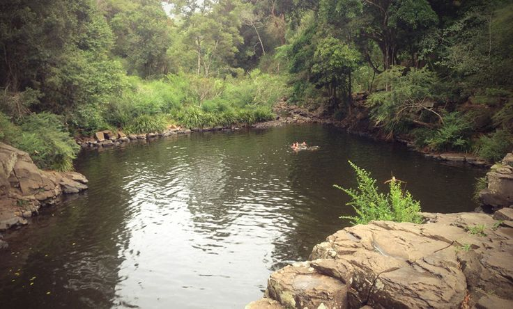 Gardner's Falls - the main swimming hole doesn't dry out during a dry period
