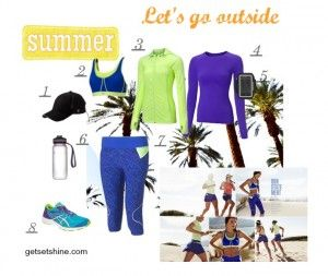 Let's go outside - Sweaty Betty workout clothes