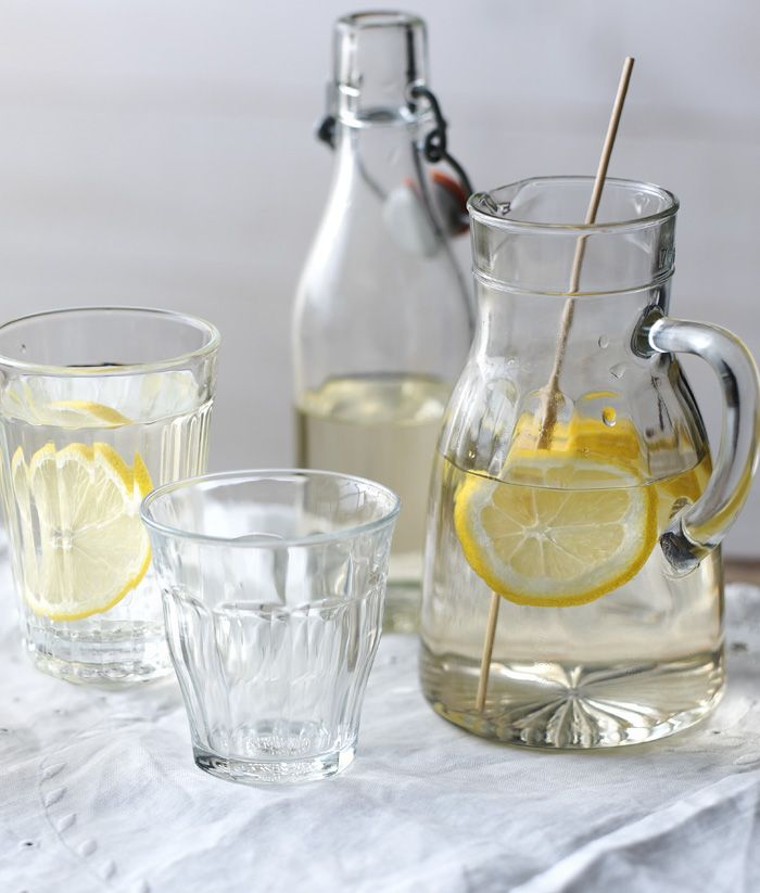 Hurry and grab some elderflower before the season's over to make this easy cordial. A great base for cocktails or just for a cool summer drink.