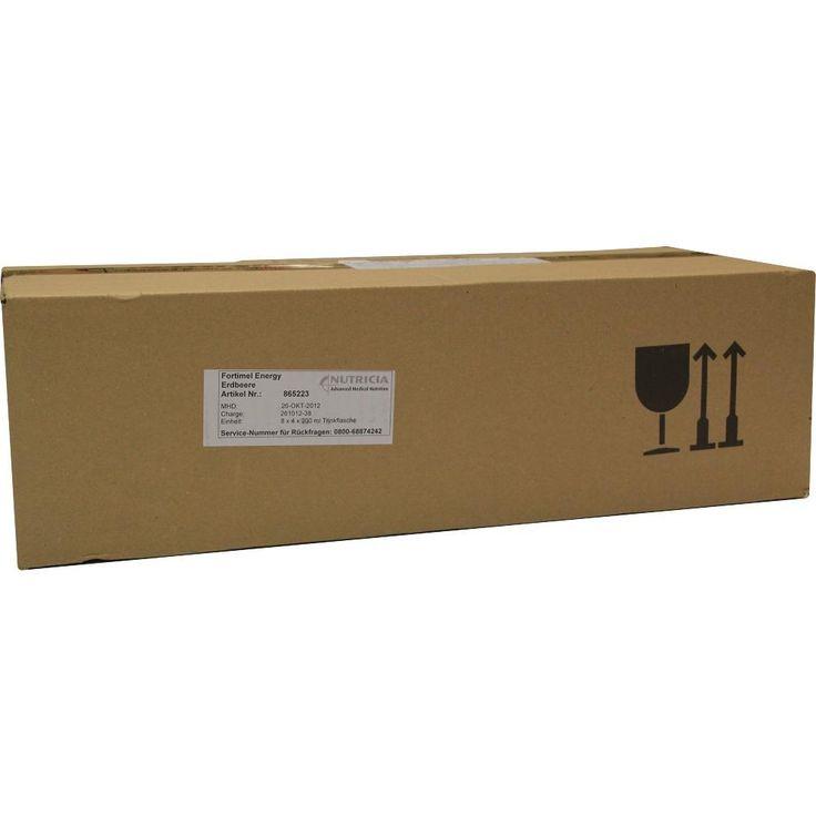 FORTIMEL Energy Erdbeergeschmack:   Packungsinhalt: 8X4X200 ml Flüssigkeit PZN: 01125301 Hersteller: Nutricia GmbH Preis: 83,47 EUR inkl.…