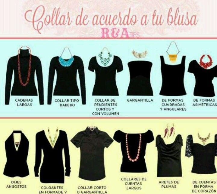 collares de acuerdo a tu blusa #chulatiendacreativa #cualcollar