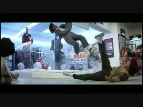 Police Story Mall Fight - YouTube