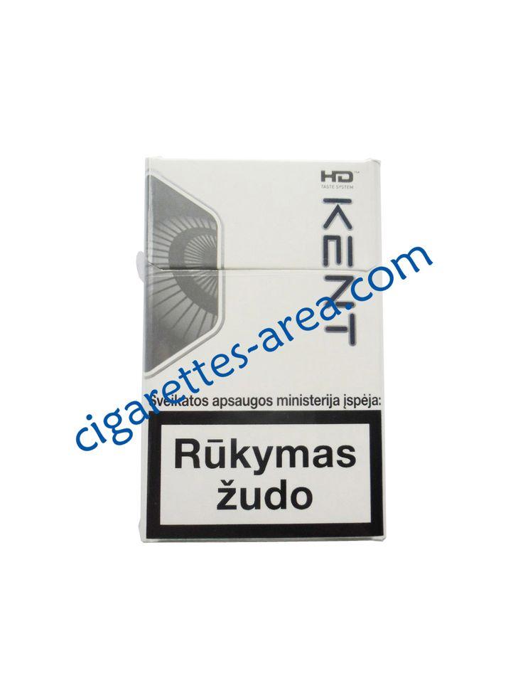 Kent HD Silver cigarettes