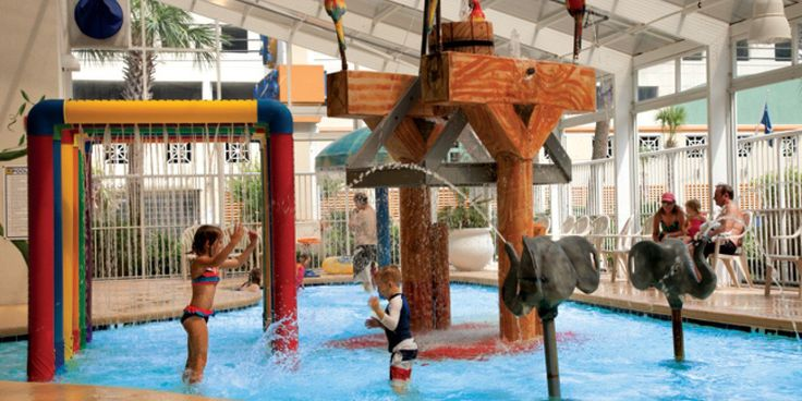 Check out these great hotels in Myrtle Beach with indoor water parks