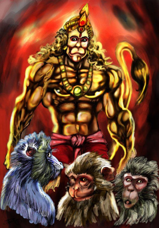 Bajarang Bali - The Powerful Son of Vayu