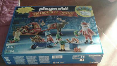 mes sorties avec mes 2 loulous: Calendrier de l'Avent Playmobil
