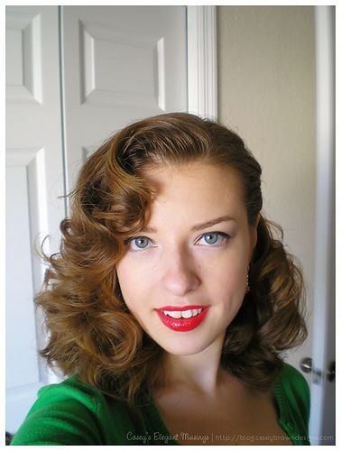 hair 1940s style 25 best ideas about 1930s hairstyles on 1930s 6082 | ce1b240f897936cd2613a9c8594b1144
