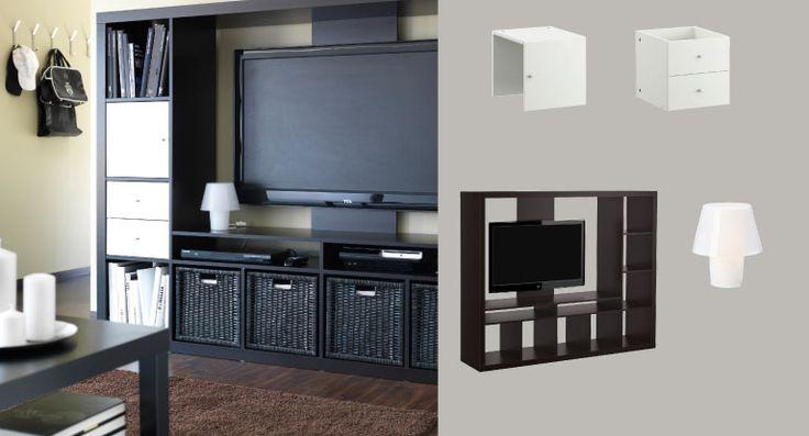 Best 25 tv storage unit ideas on pinterest tv storage - Storage units living room furniture ...