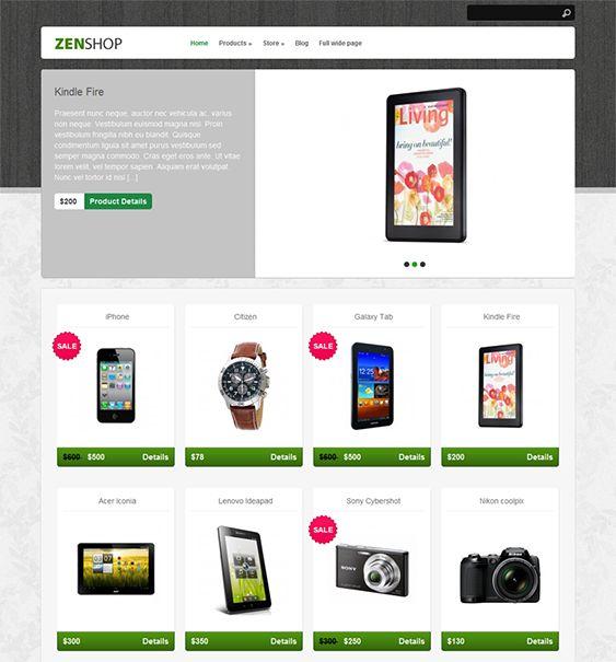 free ecommerce wp theme