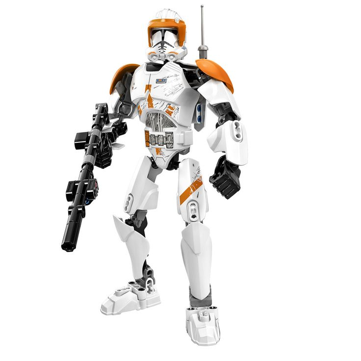 Lego Star Wars Constraction Buildable Figures Commander