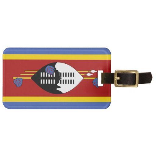 Swazi flag Luggage Tag