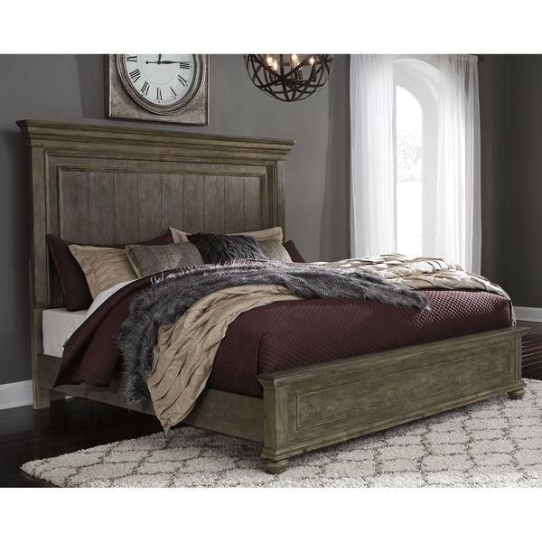 Johnelle Exclusive 3 Piece Panel Bed In 2020 Ashley Furniture Bedroom Queen Panel Beds Upholstered Panel Bed
