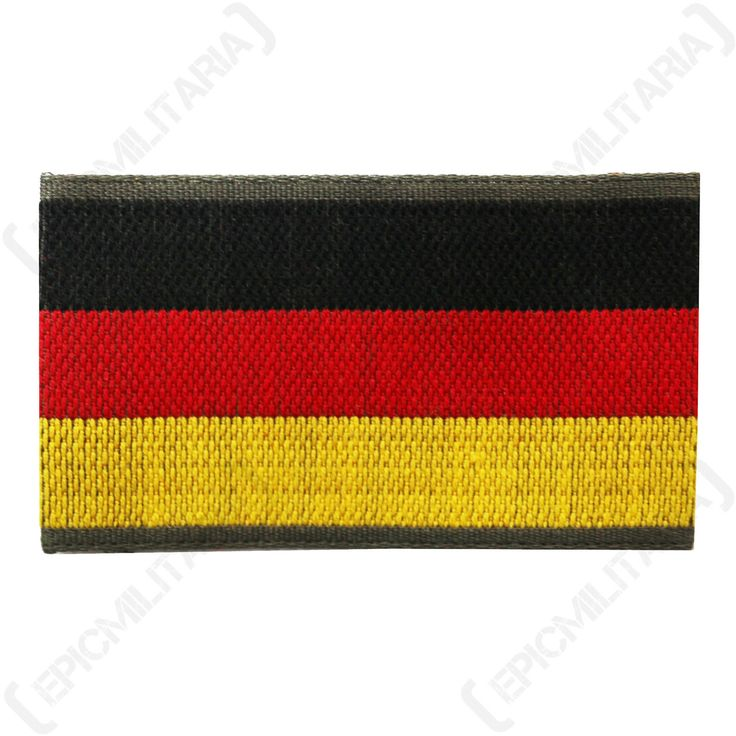 New #german army bundeswehr flag patch - #military uniform sew on #shoulder badge,  View more on the LINK: http://www.zeppy.io/product/gb/2/121461986487/