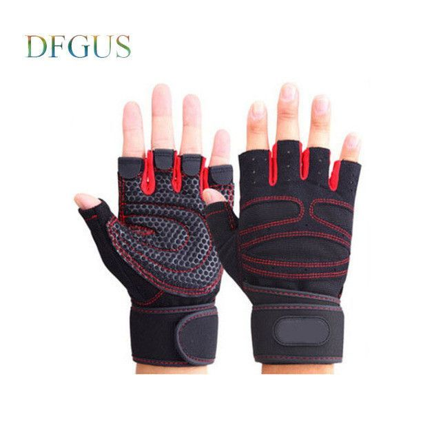 Strong Gym Gloves Power Luvas Tactical Academia Anti-skid Guantes Protective Crossfit Fitness Gloves for Sport