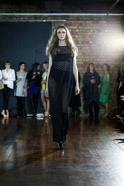 taylor 'Incision' collection SS13 -Punctuate Dress. Photo by Won at W Studio