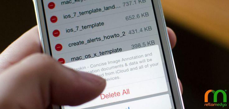 iPhone Kullanıcılarına Boş Alan Sağlayan Yöntemler | Rella Blog