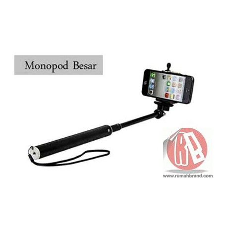 Monopod Jumbo (H-6) @Rp. 65.000,-  http://rumahbrand.com/aksesoris-hand-phone/792-monopod-jumbo.html  #flexiblytongs #flexibly #tongs #rumahbrand #tongsis #perangkat #perangkathandphone #handphone #aksesoris #aksesorishp #hp #foto #traveltools #jalanjalan #rumahbrandotcom #jalan #camera #selfie #camerafoto #accessories #handphoneaccessories #picture #smartphone #tablet #layzpod #android #foldabelmonopod #tongsislipat #tongkatnarsis #clamp #bicycleholder #bike #mountsepeda #motor #modelclaw…