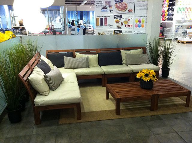 Ikea outdoor furniture this is gorgeous for outdoor lounge for Ikea adirondack chairs