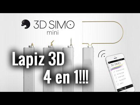 3DSIMO Mini - El lápiz 3D 4 en 1