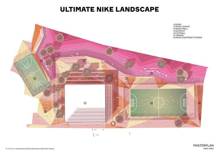 Gallery of Kosmos Architects Wins Competition for Landmark Nike Sports Park in Moscow - 9